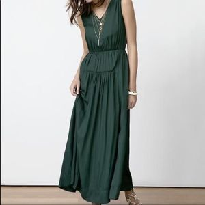 Banana Republic • Hunter Green Maxi Dress